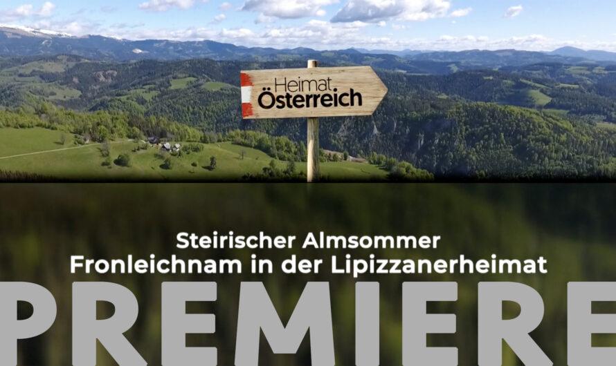 """ORF-Premiere für die Doku """"Steirischer Almsommer"""""""