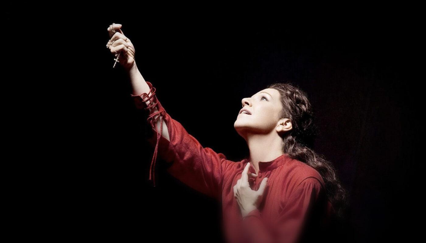 Maria Stuarda in einer Aufführung der Metropolitan Opera, New York